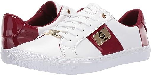 White/Bold Cherry