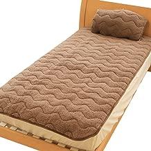 発熱 吸湿 もこもこ Heat.F 敷きパッド/ファミリーサイズ 5人用(280×200cm) ボア 敷きパッド あったか あたたか 暖かい 寝室 洗える ベッド シンプル インテリア 敷き布団カバー