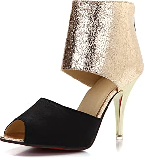 Large Size 31-44 Sexy Thin High Heels Summer Sandals Shoes Women Party Prom Queen Footwear