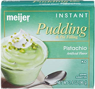 Meijer PISTACHIO Pudding & Pie Filling Instant 1-3.4 oz Box
