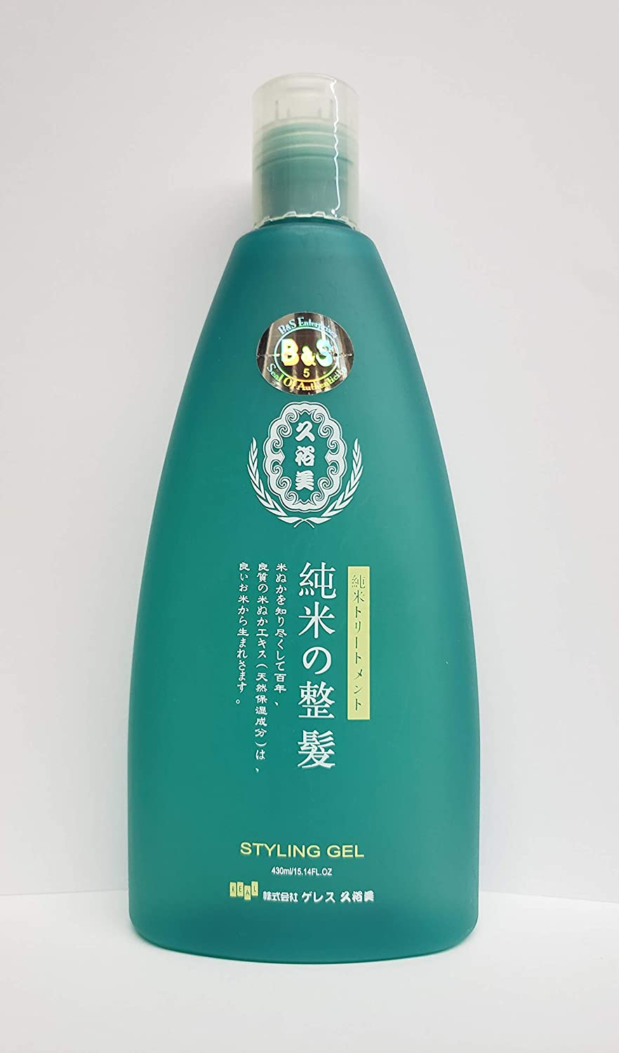It is very popular Pure Rice Hair Styling Gel oz NEW before selling 15.14
