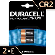 Duracell High Power Lithium CR2 Battery 3V, Pack of 2 (CR15H270) Designed for Use in Sensors, Keyless Locks, Photo Flash and Flashlights