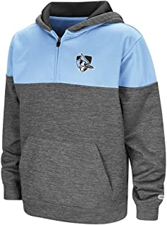 Colosseum Youth Johns Hopkins Blue Jays Quarter Zip Pull-Over Hoodie