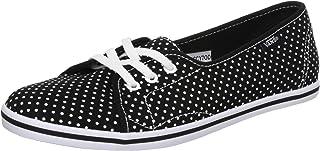 Vans Leah Vn-0Scy Shoe, (Polka Dot) Black/True White, 4