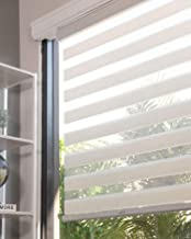 CHICOLOGY Everyday Cordless Zebra Shades, Light Filtering Dual Layer Window Blind Treatment Best for Kids & Perfect for Li...