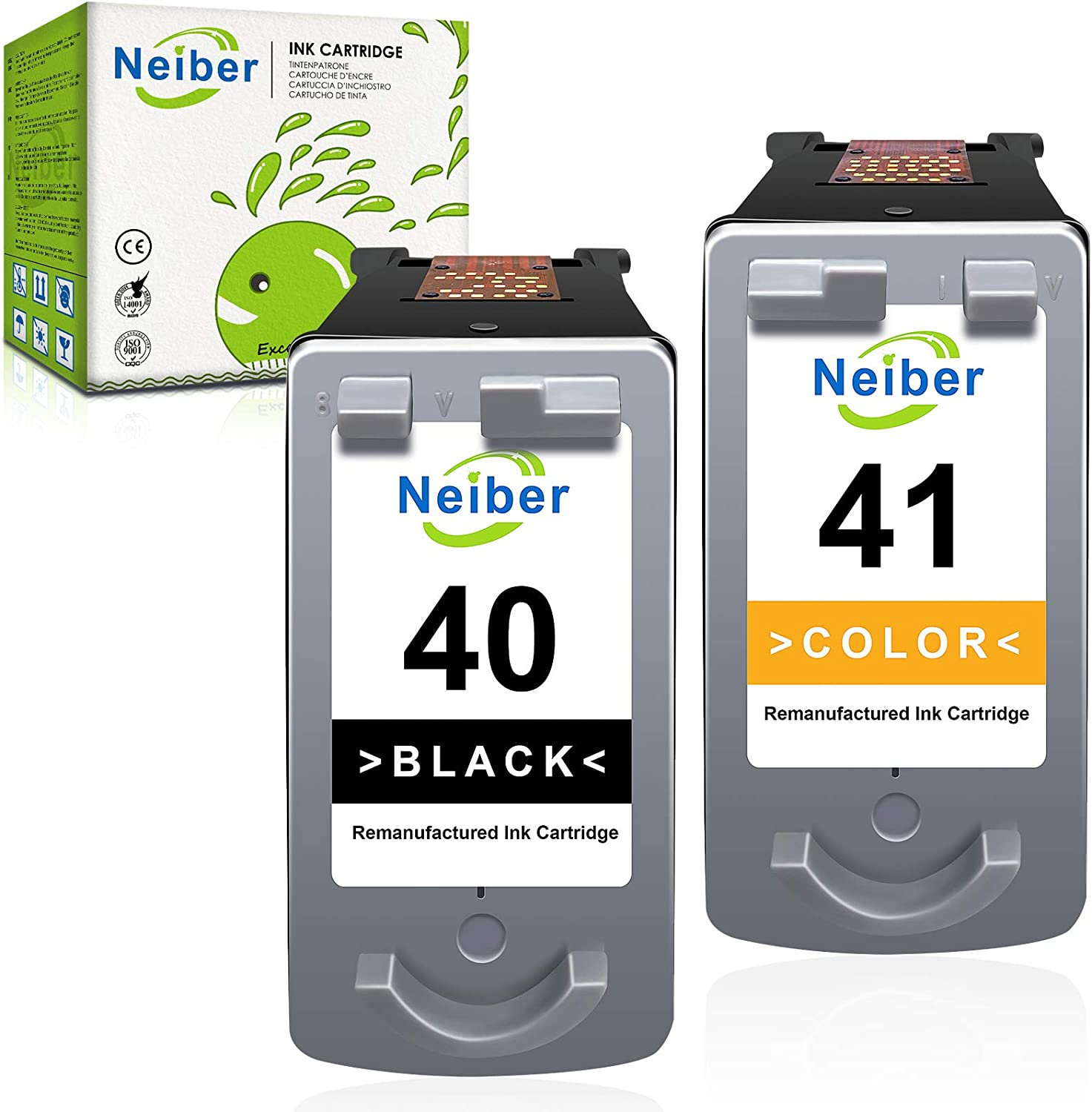 Neiber Direct stock discount discount Remanufactured Ink Cartridge Replacement Canon PG-40 for