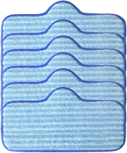 Iusun 6 Pack Microfiber Pads Replacement Parts Kits For Dupray Neat Steam Cleaner Fiber Mop Accessories Vacuum Cleaner Clearing Set (Blue)