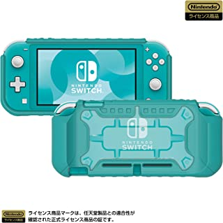 【任天堂ライセンス商品】タフプロテクター for Nintendo Switch Lite クリア✕ターコイズ 【Nintendo Switch Lite対応】