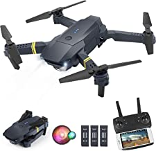ORRENTE Drone with Camera for Adults, WiFi FPV Drone with 1080P HD Camera for Beginners, Drone Training with Shot Switchin...