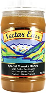 Nelson Honey Nectar Ease, Natural Manuka Honey 500g Genuine New Zealand non-GMO, BPA Free Jar - 100% guaranteed