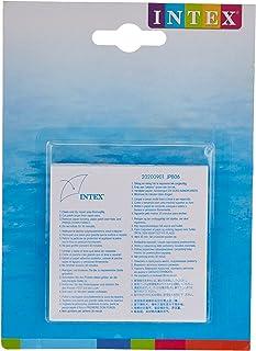 Intex 59631NP Rustine de réparation, Transparent, 7x7x0,1 cm