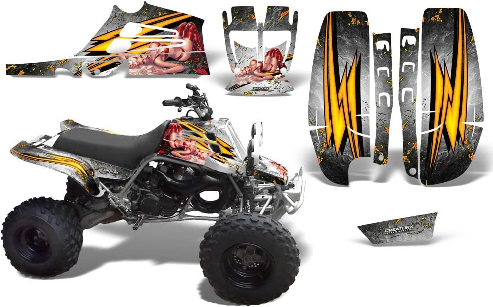 CreatorX Graphics Kit OFFicial mail order Decals Stickers Limited time for free shipping For 350 Yamaha Banshee