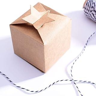 Vaessen Creative Matrice de Découpe, Étoile, Créez Votre Propre Sac-Cadeau, Boîte à Bijoux, Calendrier de l'avent, Étiquet...