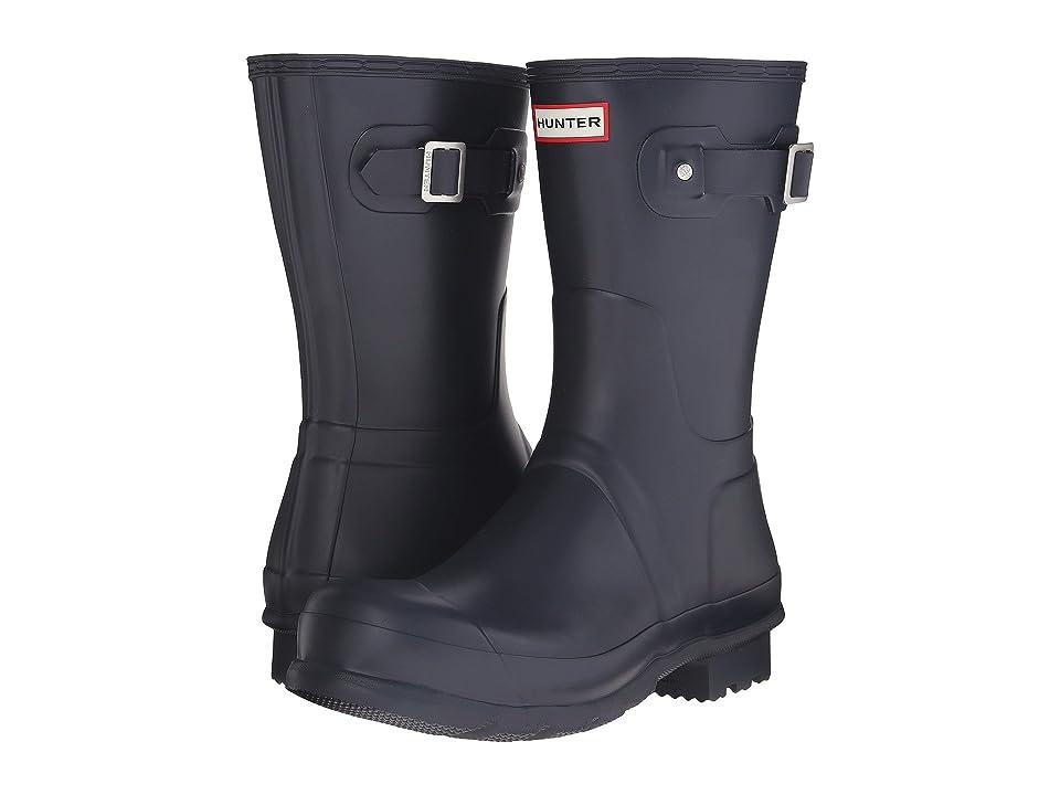 Hunter Original Short Rain Boots (Navy) Men
