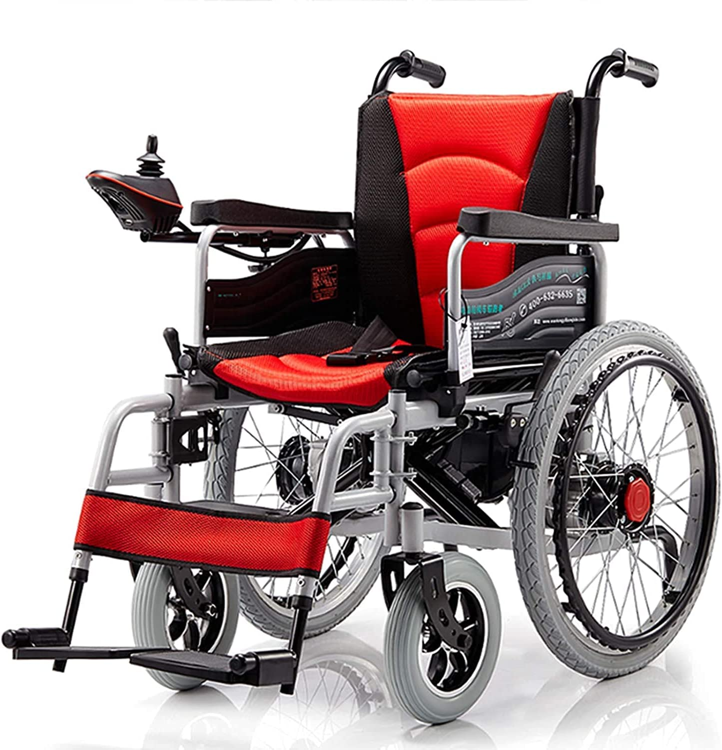 Electric Wheelchair Gorgeous and Flashlight Dual-Purpose Fol Light-Weight Max 48% OFF