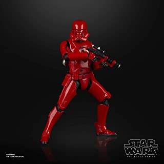 Star Wars The Black Series Sith Jet Trooper Toy 6-inch Scale Star Wars: The Rise of Skywalker Collectible Action Figure, Kids Ages 4 and Up