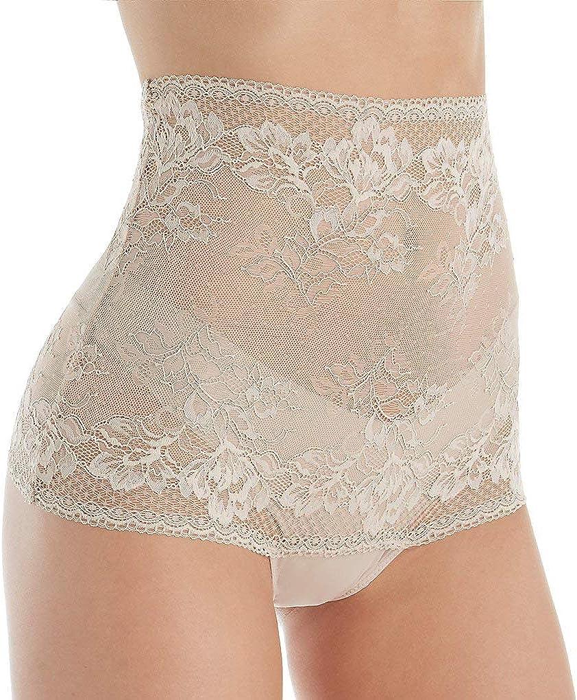 Wacoal Women's Lace to Love Hi Waist Thong Panty