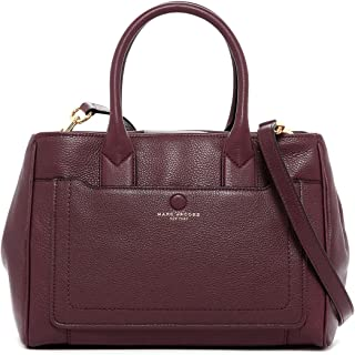 Empire City Leather Tote Shoulder Bag, Cordovan