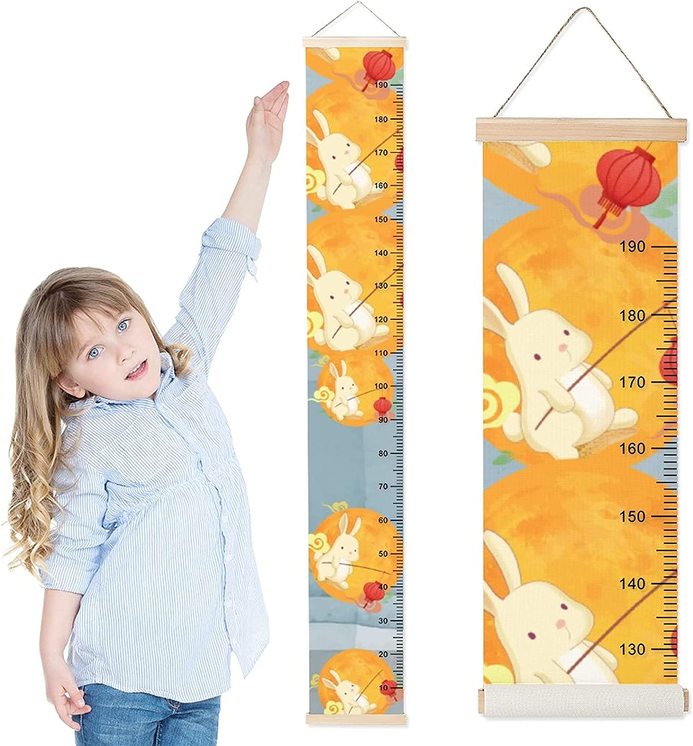 DKISEE Baby Growth All stores are sold Chart sale Child Wall Height Hanging f Ruler