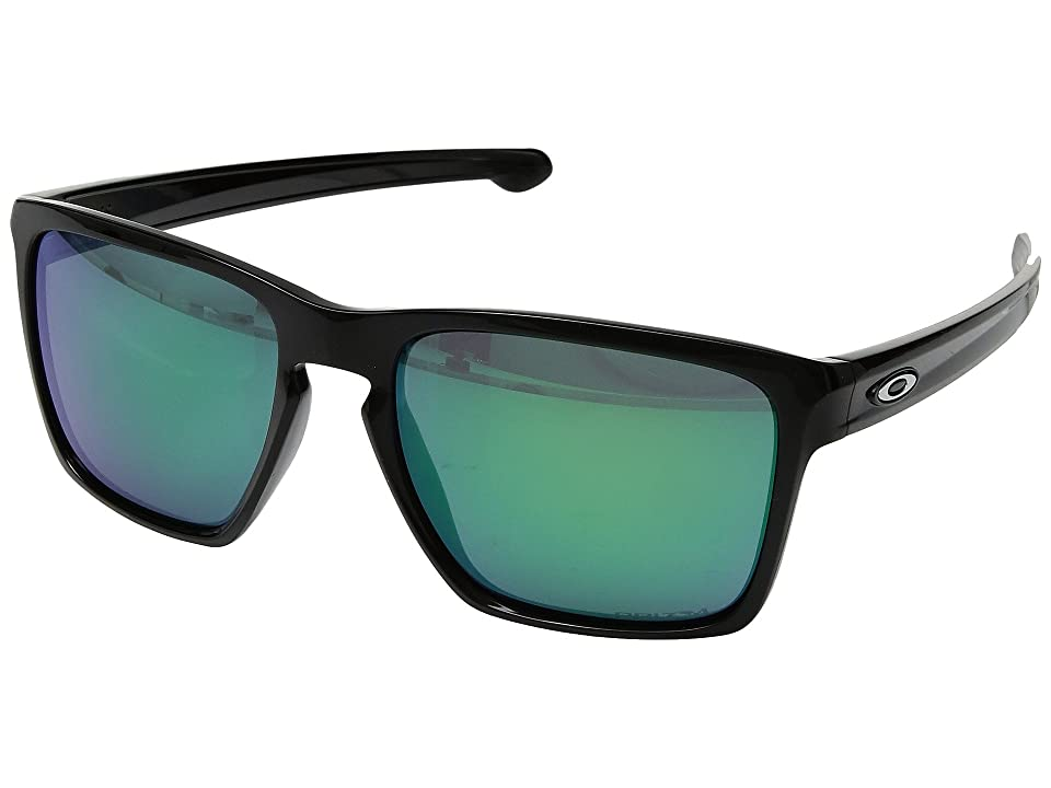 Oakley Sliver XL (Polished Black w/ Prizm Jade) Fashion Sunglasses