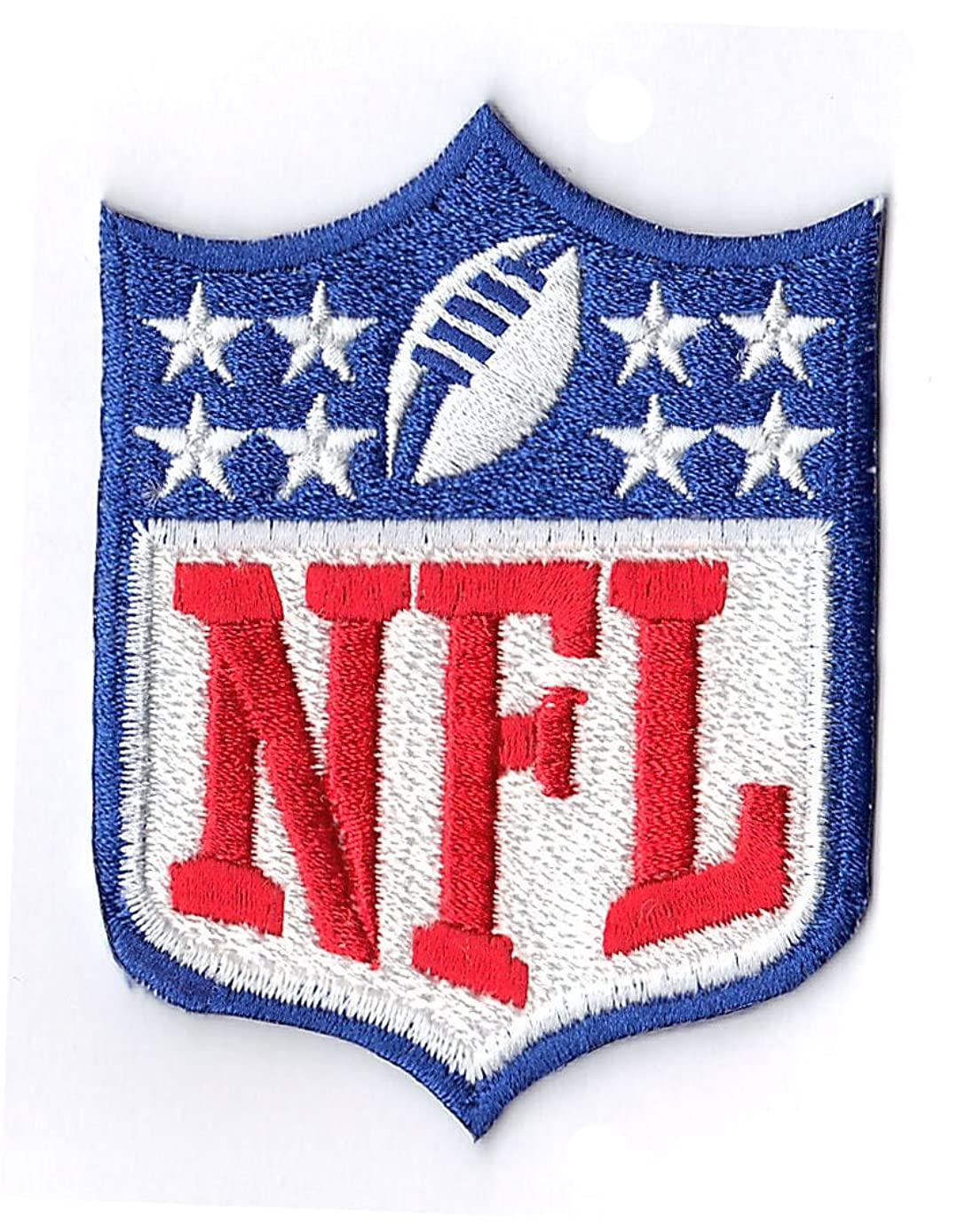 NFL SHIELD 8 Star Embroidered Logo PATCH