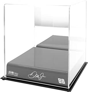 Sports Memorabilia Dale Earnhardt Jr. #88 JR Nation Appreci88ion Logo Acrylic Mini Helmet Case - Nascar Display Cases Logo