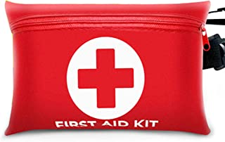 First Aid Kits, 101 Pieces Emergency Bags with Survival Basic Supplies for Outdoors, Camping, Hiking, Home, Office, Travel, Car