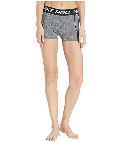 Nike Pro Shorts 3 Space Dye (Black/Smoke Grey/White/White) Women