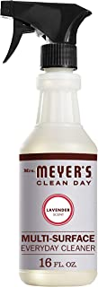 Mrs. Meyer's Clean Day Multi-Surface Everyday Cleaner, Cruelty Free Formula, Lavender Scent, 16 oz