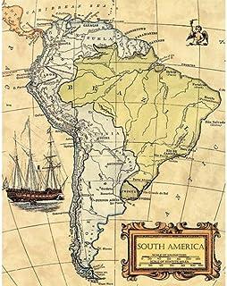 Amazon.es: cuadro carta nautica