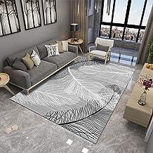 Simple Modern Feather Living Room Bedroom Carpet Children Bedside Blanket Model Bay Window pad Floor mat (Color : G, Size ...
