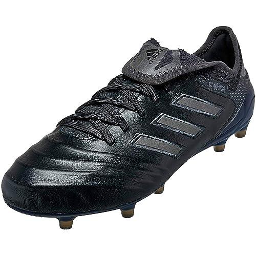 adidas Men s Copa 18.1 FG Leather Soccer Cleats - (Black Utility Black) ( d4dcd5b8d
