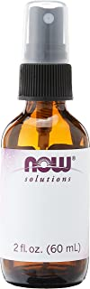 Now Foods Empty Amber Glass Bottle, 60ml + Spray Lid (Pack of 6)