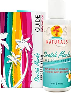 COS Naturals ANTI STRETCH MARK AND SCAR CREAM Natural Organic TREAT & PREVENT.