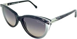 روبيرتو كافالي نظارات شمسية دائري للنساء ، رمادي ، RC787S-05B-55-18-140