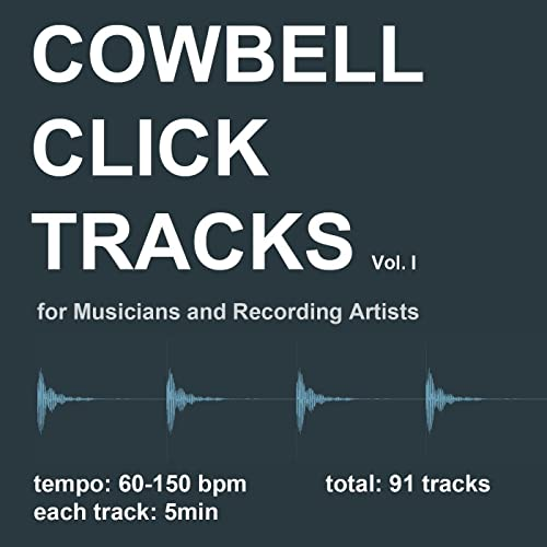 Cowbell Click Tracks Vol 1 by DrumTex on Amazon Music