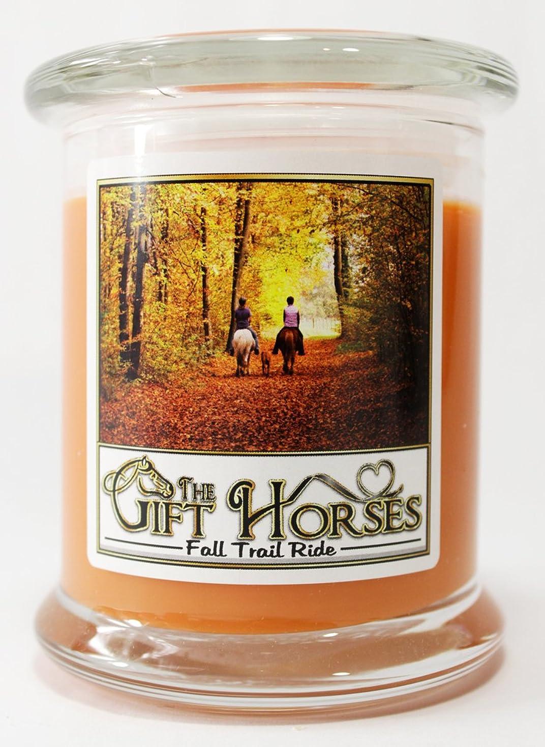 悲しいことに大工アーティキュレーションすべての自然大豆ワックスScented Candle?–?クリーン燃焼、長持ち、パラフィンフリー( 12オンス、Fall Trail Ride )