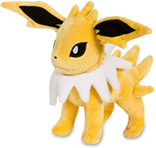 Pokemon Cards Jolteon Poke Plush (Standard), Yellow, 7 1/4""