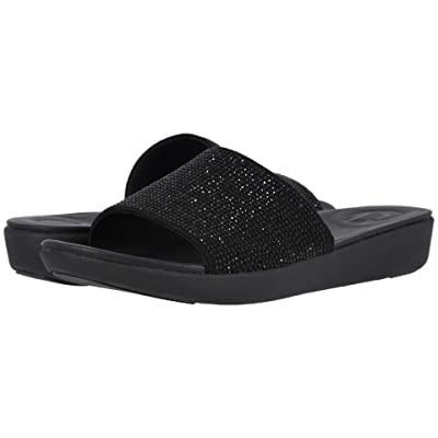 FitFlop Sola Crystalled (Black) Women