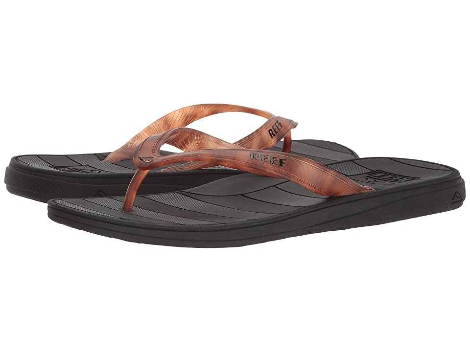 Reef Switchfoot LX Prints (Black/Brown/Tortoise) Men