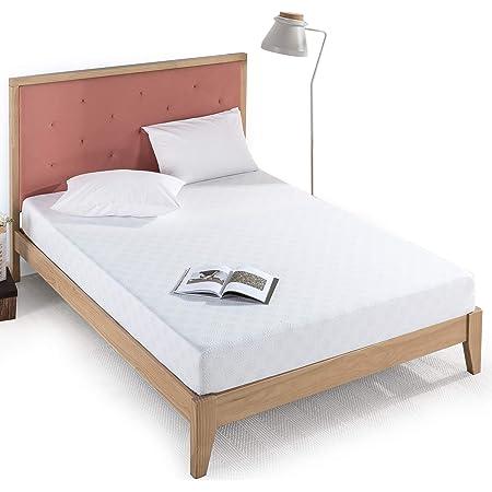 Zinus 8 Inch Gel-Infused Green Tea Memory Foam Mattress / Cooling Gel Foam / Pressure Relieving / CertiPUR-US Certified / Bed-in-a-Box, Full