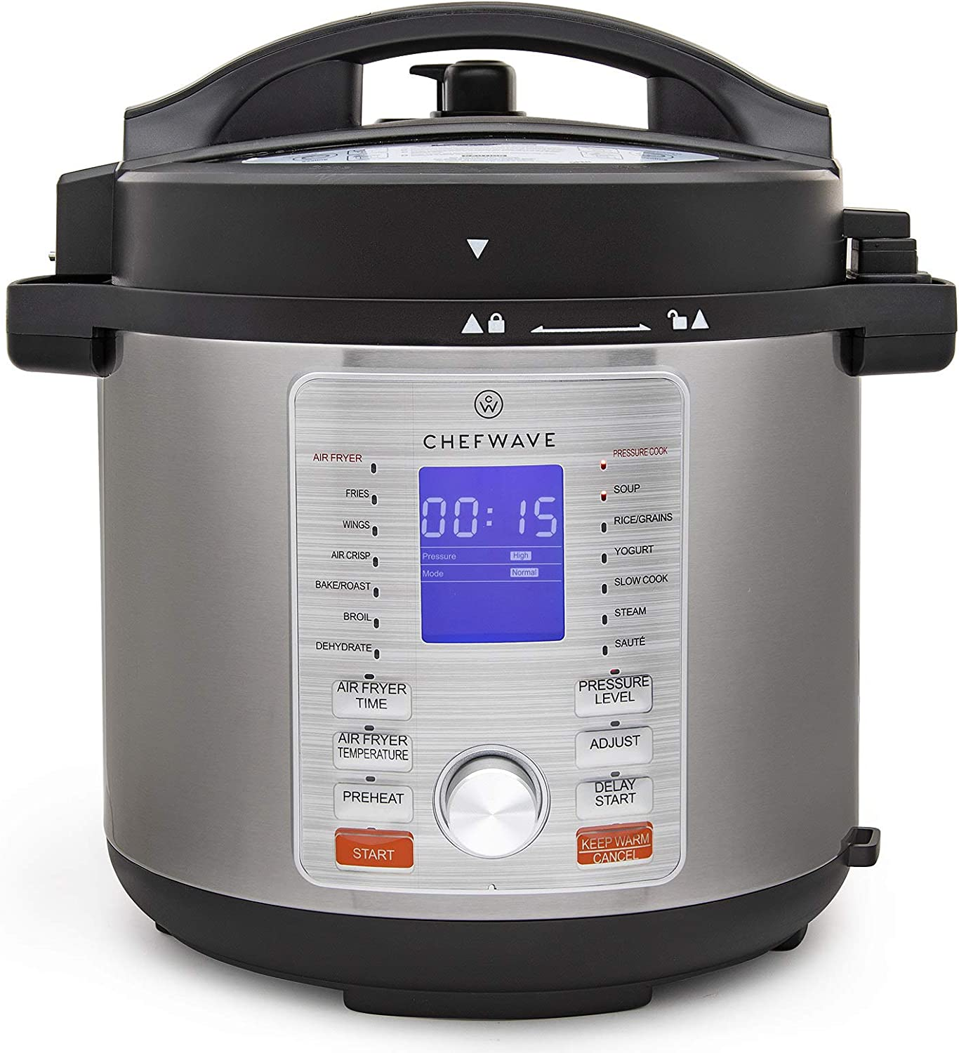 ChefWave 12-in-1 Electric Pressure Cooker 6-Quart