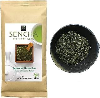 Zen no Ocha Sencha tea Standard - Japanese loose leaf Organic Green tea Made in Shizuoka Japan (Sencha tea Standard 3.53oz...
