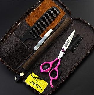Professionele Straight Shears 6.0 Inch 440C Stainless Steel Set, Licht En Sharp Pink Handle Hair Cutting Scharen Salon En ...