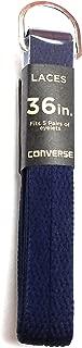 Converse Unisex Replacement Cord Shoe Laces Flat Style Shoelaces (Navy, 45)