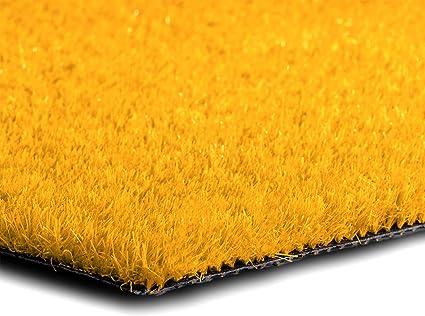 Anthrazit, 200x500 cm casa pura/® Komfort Kunstrasen mit Noppen Rasenteppich f/ür Terrasse wetterfest /& schnelltrocknend Meterware Balkon und Freizeit