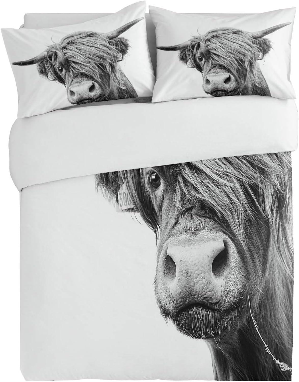 SUN-Shine 3PiecesBeddingDuvetCoverSetVintage Cow Art S Yak Super Fixed price for sale special price