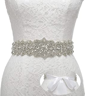 Rhinestone Bridal Belt Crystal Wedding Belt Bridesmaid Sash Women Dress Accessories