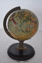 Indian Handicrafts Export Vintage Litho Reliable Series Tin World Globe Atlas On Stand, England