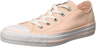 Converse Women's Washed Coral White Sneakers-4 UK/India (36.5 EU) (1001694165001)